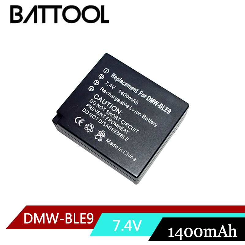 1X DMW-BLG10 BLG10 DMW-BLE9 BLE9 Rechargeable Battery for Panasonic Lumix DMC GF6 GX7 GF3 GF5 ZS100 ZS60 LX100 GX85 DC-ZS70 tectra 4pcs dmw blg10 dmw ble9 bp dc15 bateria usb dual charger with ac adaptor for panasonic lumix gf5 gf6 gx7 lx100 gx80