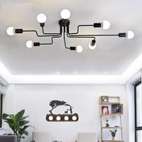 Lustres Nordic Modern Design Led Chandeliers For Living Room Bedroom Foyer Lamp Decor Home Lighting Fixtures Iron E27 110 220V