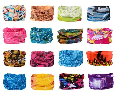 Mixed Batch Multifunctional Headwear Neck Bandana Multi Scarf Tube Mask Cap Large Number Of Style Wholesale/Retail Free Shipping