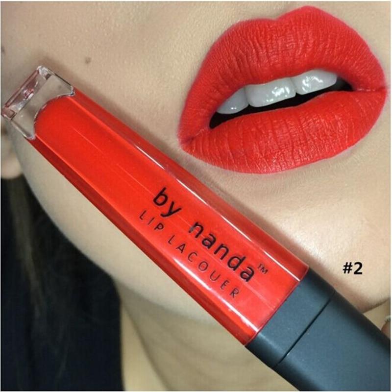 1Pc Matte Waterproof Long Lasting Lip Stick Gloss Lipstick Lipgloss Makeup 8 Colors available