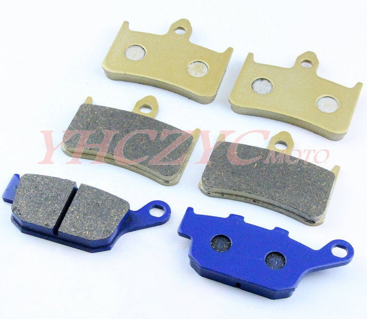 For HONDA CB400 SF (F2V/F3T)Superfour(NC31) 1995-1997 motorcycle front and rear brake pads set motorcycle parts front brake pads discs kit for honda cb400sf cb400 cb 400 sf superfour 92 95 cbr250 mc22 90 94 vfr750 88 97