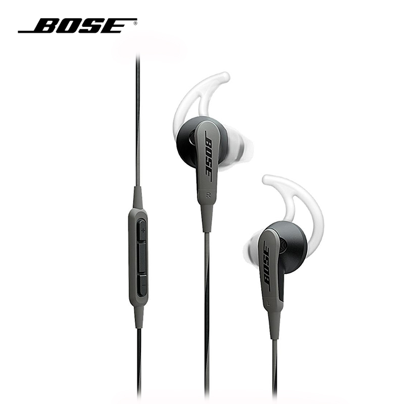 BOSE SoundSport In ear Earphone Deep Bass Sport Running Music Headset Inline Remote Mic For Apple/Android Smartphone/Devices