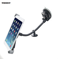 TIDERY For IPad 2 3 4 Universal Car Windshield Mount Holder For Samsung Tablet PC PDA