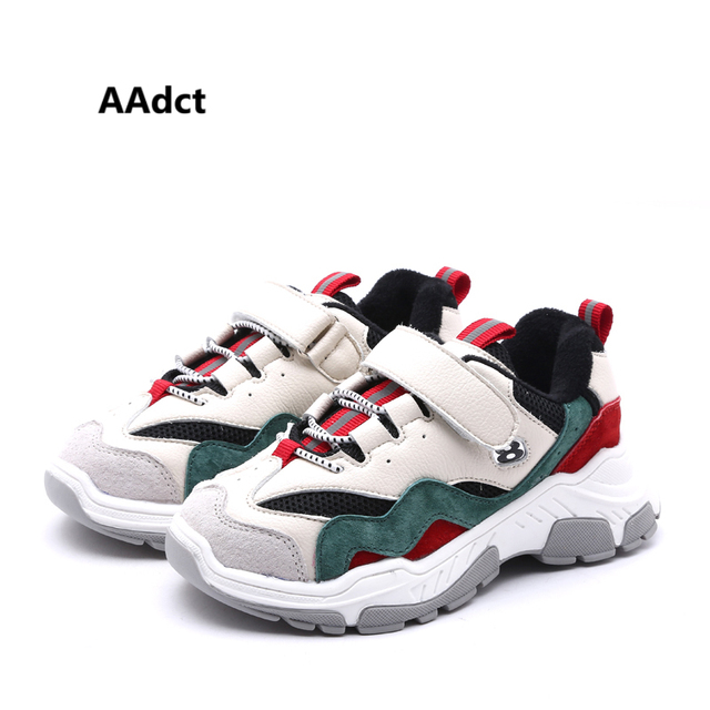 AAdct winter cotton children shoes casual running sports girls boys shoes Brand little kids shoes for sneakers High-quality