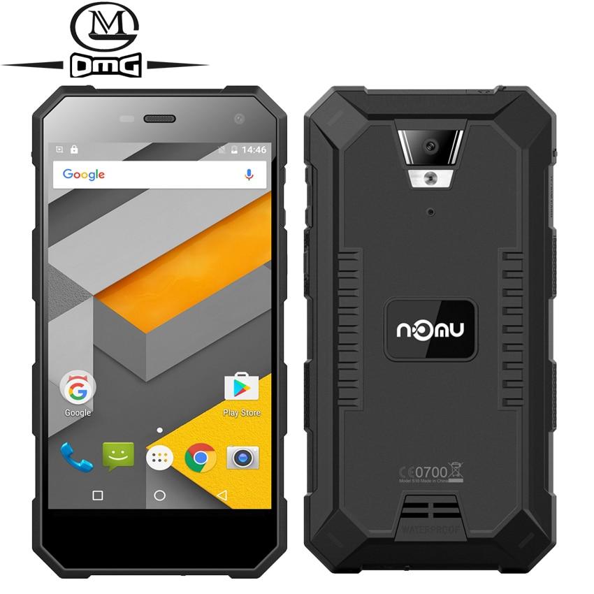 NOMU S10 5 0 IP68 Waterproof shockproof MTK6737 Quad Core Smartphone 2GB RAM 16GB ROM Android