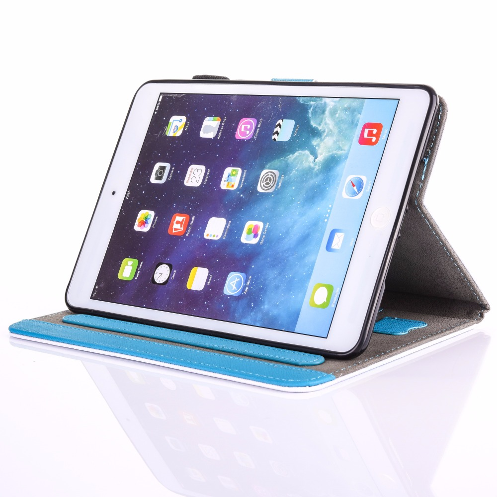 Coque iPad Mini 4 için Tablet Çocuk Durumda Yeni Hayvan Baskılı - Tablet Aksesuarları - Fotoğraf 3