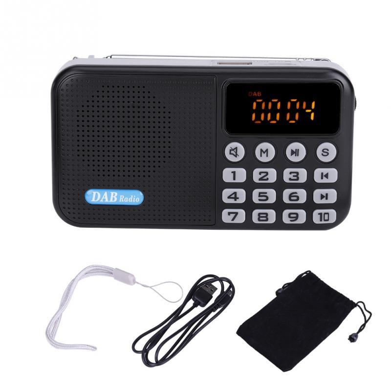 Energisch Vbestlife Dab Digital Radio Auto Dab-radio Empfänger Fm Radio Bluetooth Empfänger Tragbare Tasche Stereo Radio Musik Mp3 Lautsprecher Unterhaltungselektronik Radio