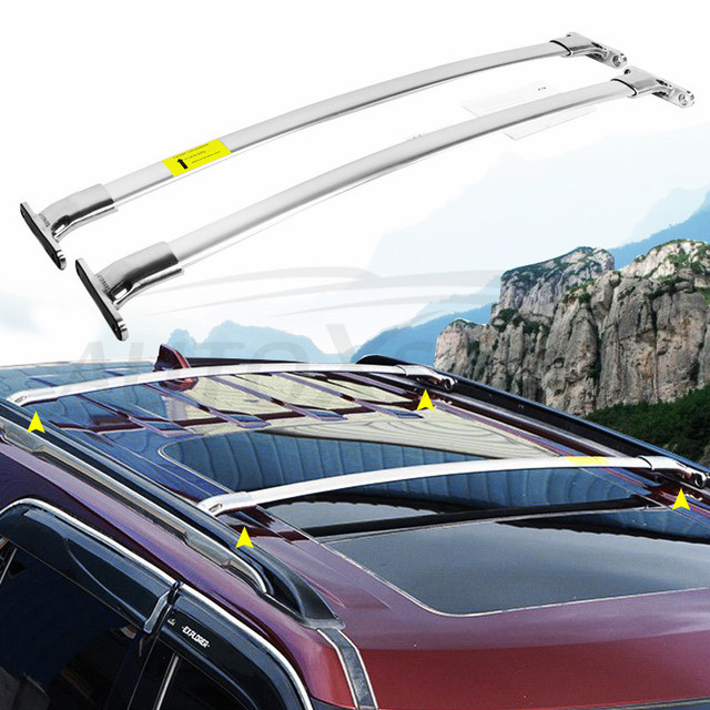 Cross Bars Fit For Ford Explorer 2016 2017 2018 Crossbar New Arrival 2pieces Set Baggage Luggage Roof Rack