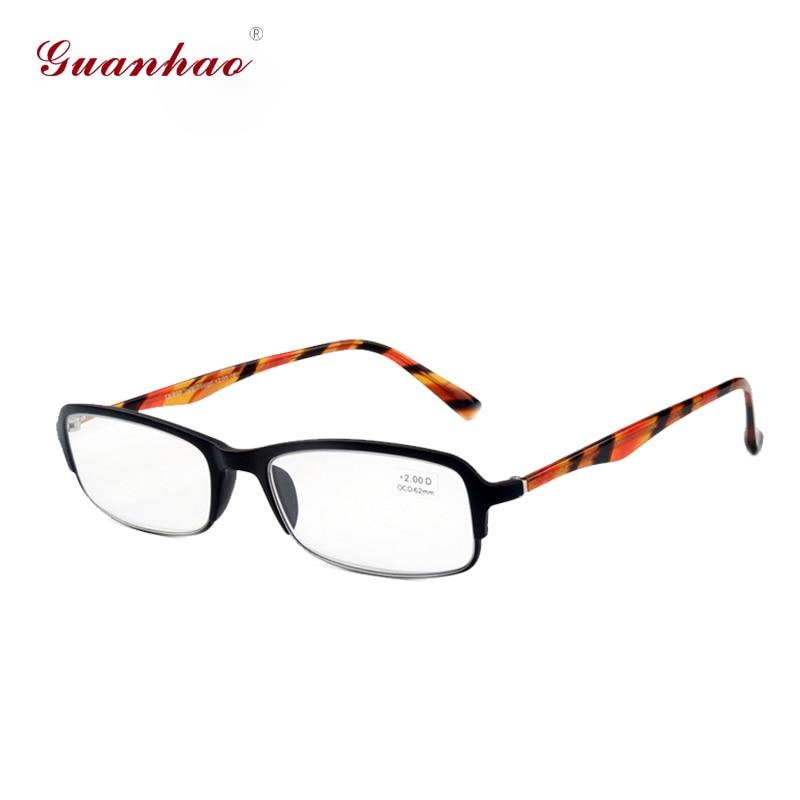 Guanhao Kacamata Baca Pria Wanita Bingkai Depan dengan Frame Mode - Aksesori pakaian - Foto 3