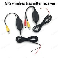 Hot sale! Best Quality 2.4G wireless transmitter wireless receiver for Car GPS portable back up Reverse Rear View Camera