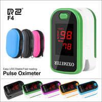 RZ Portatile Dito Ossimetro della punta delle dita Pulsioximetro Frequenza Cardiaca Saturometro Controlli della Salute della Famiglia Pulsossimetro Oximetro