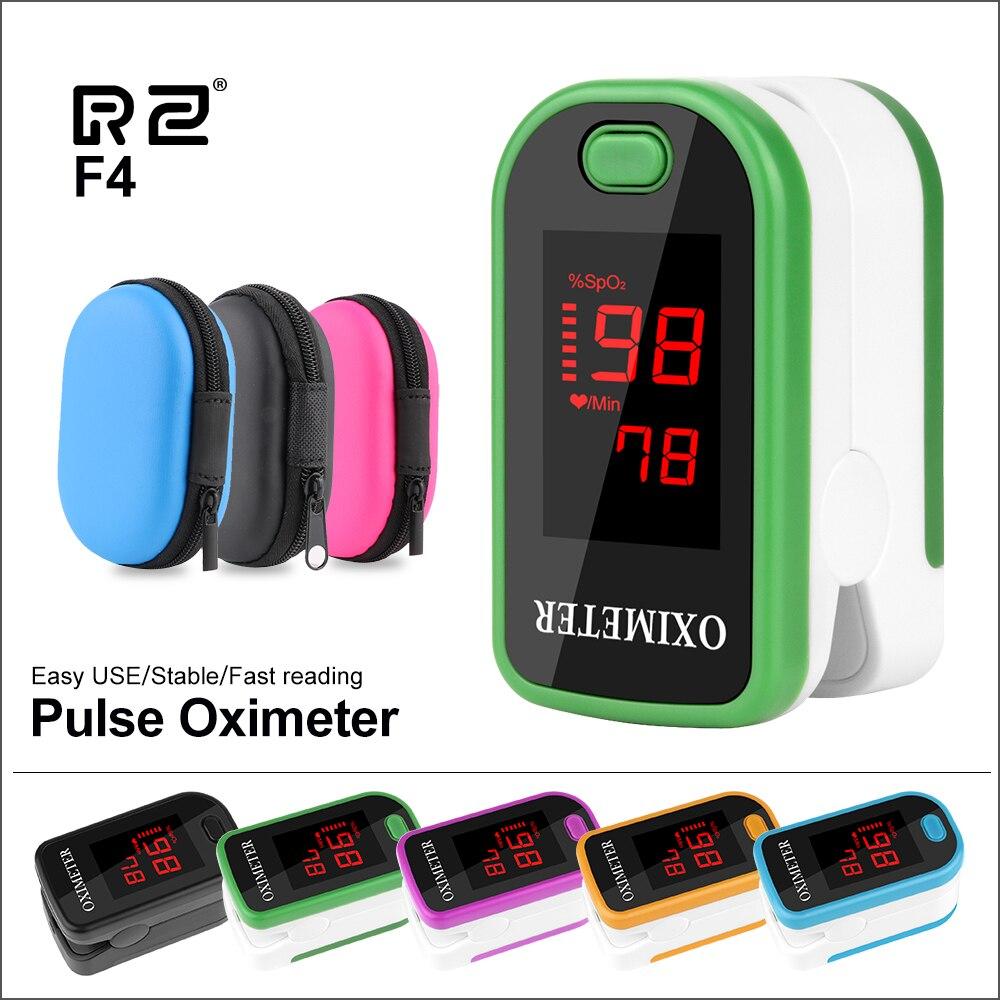 Rz portátil dedo oxímetro fingertip pulsioximetro freqüência cardíaca saturometro doméstico saúde monitores de pulso oxímetro