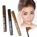 Nuevas Adquisiciones Cejas Mascara Crema Cejas Sombra de Ojos lápiz Maquillaje Resistente Al Agua lápiz de 3 Colores Gel de Cejas Enhancer Marrón
