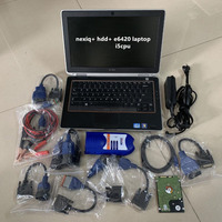 nexiq usb link 2 heavy duty truck diagnostic scanner nexiq 125032 software hdd with laptop e6420 i5 full cables win7 system