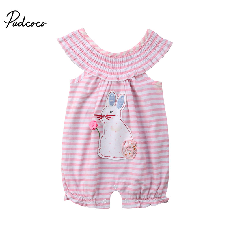 e8607509cb0 Detail Feedback Questions about baby rompers girls boutique outfit Baby  Bubble rompers rabbit design boutique baby Striped romper on Aliexpress.com  ...