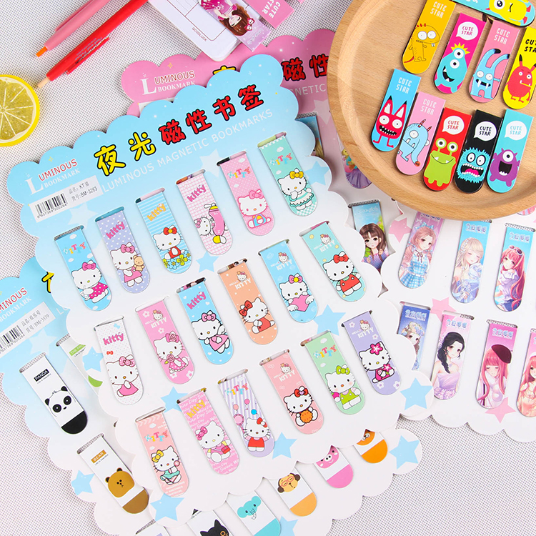 Book Marks Book Mark Cartoon Magnetic Bookmark Student Gift Stationery Items Book Bookmarks For Books Magnetic Bookmarks Totoro