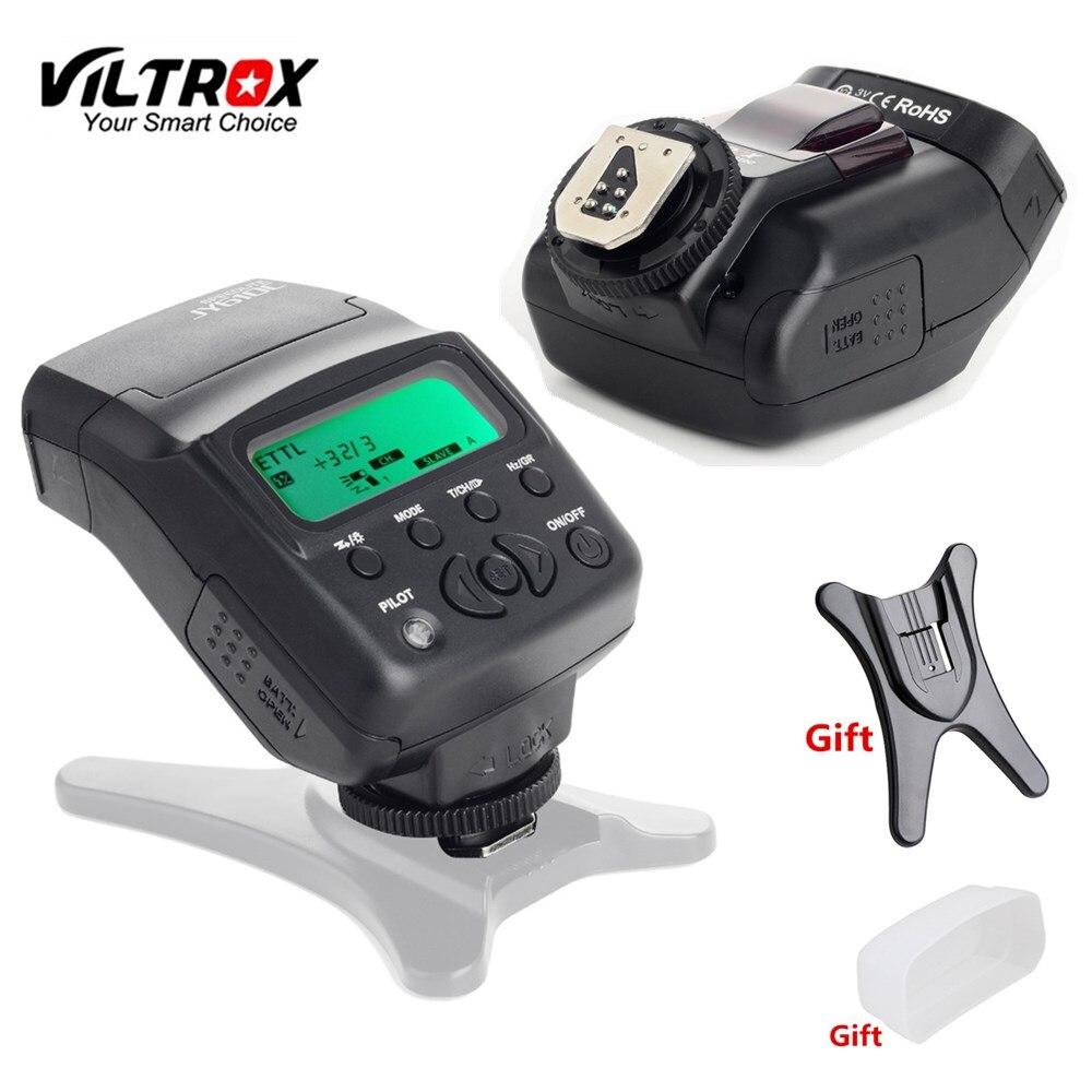 Viltrox JY-610C E-TTL Speedlite Caméra Flash + Diffuseur + Flash Stand pour Canon 1300D 1200D 760D 800D 650D 77D 80D 5 3dmark IV 7DII