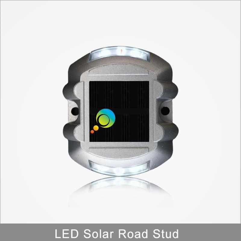 Shenzhen Factory High Quality Aluminious Horseshoe Shape 3M Reflector Solar Led Road Stud