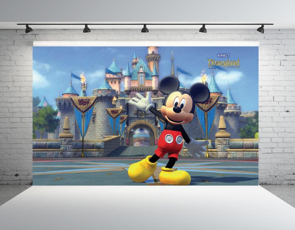 SHANNY Vinyl Custom Backdrops for Photography Mickey Mouse theme Photo Studio Background NML-1080 10x10ft vinyl custom photography backdrops prop wall theme photography background ntwo 44
