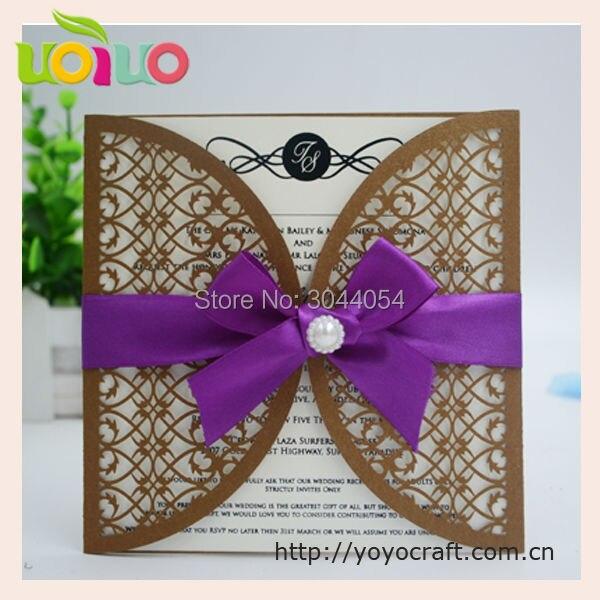 Laser Cut Pop Up Cards 3d Wedding Invitation Card
