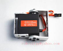 High Quality 6v-8.4v Metal Digital RDS3128 Coreless Servo w/ Bracket  Use for Model Airplane or Robot Parts