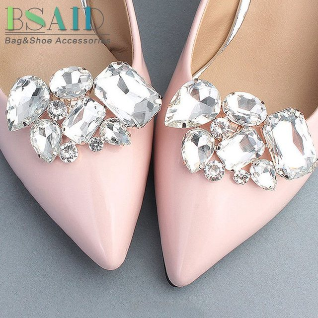 BSAID New 1 pair Rhinestone Shoes Decorations cef9dfdf113a
