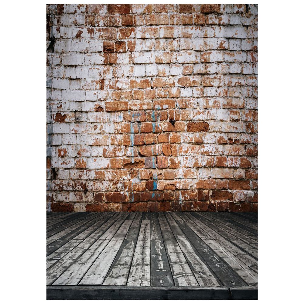 Vintage Brick Wall Photography Background Vinyl Photo Backdrops Studio Props 5x7ft brick wall baby background photo studio props vinyl 5x7ft or 3x5ft children window photography backdrops jiegq154