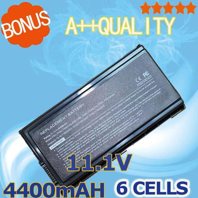 4400mAh Laptop battery For Asus A32-F5 F5 F5C F5GL F5M F5N F5R F5RI F5SL F5Sr F5V F5VI F5VL F5Z X50 X50C X50M X50N X50RL X50SL