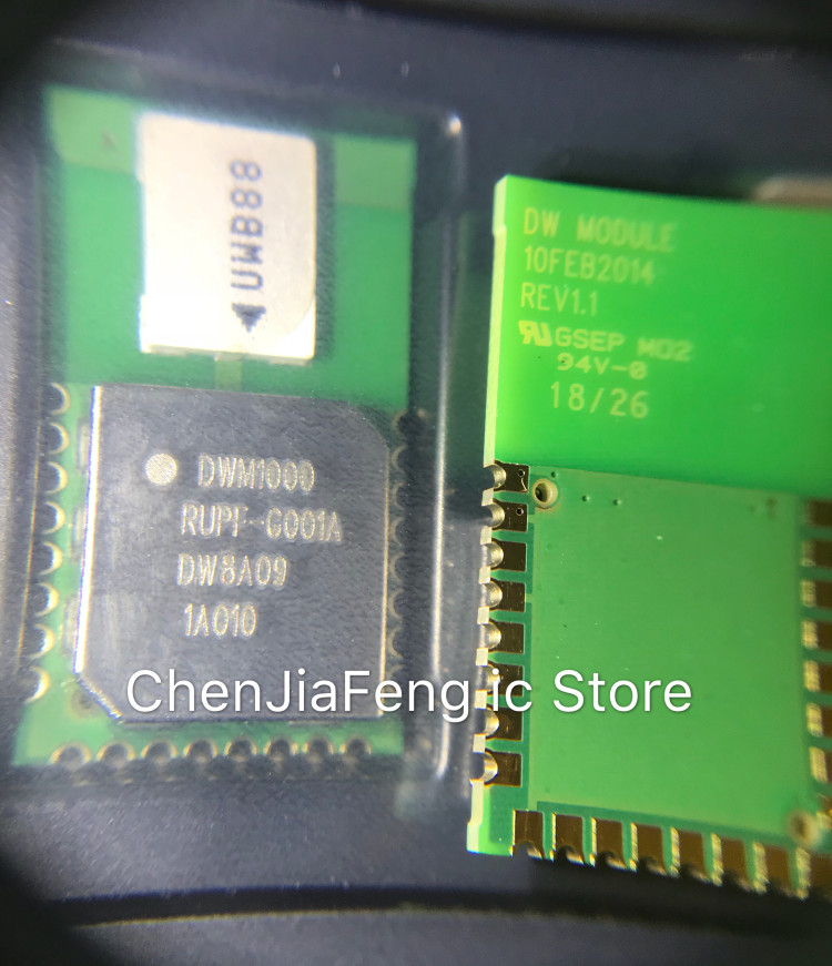 1PCS~5PCS/LOT   New Original  MODULE  DWM1000  UWB Positioning Module