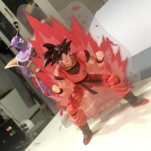 Image 2 - Demoniacal fit SSJ גוקו kaiohken פעולה דמות סקרלט לחימה אמן kaiouken Z צעצוע בן gokou Brinquedos 1/12
