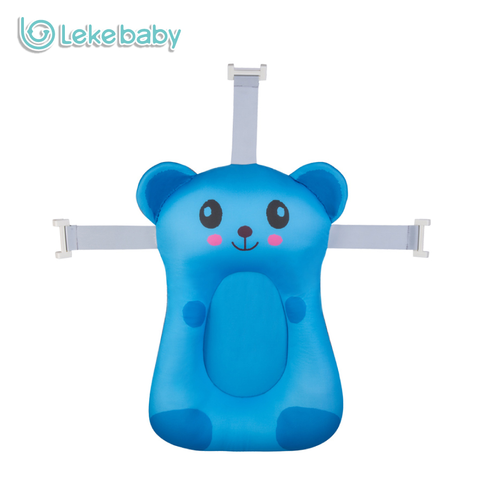 Lekebaby Baby Shower Net Infant Bathtub Contoured Support Mat Bionic ...