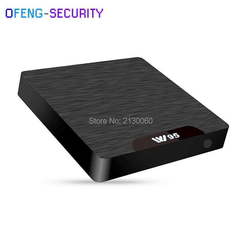 W95 Android 7.1 TV Box Amlogic S905W Quad Core 2.4G WiFi H.265 4 K VP9 lecteur multimédia 1G RAM 8G ROM décodeur prise en charge IPTV