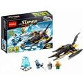 7102 Decool Super Heroes Batman Building Blocks Compatible With 76000 Batman War Chariot VS Mr.Freeze figureset Toys Boys Gift