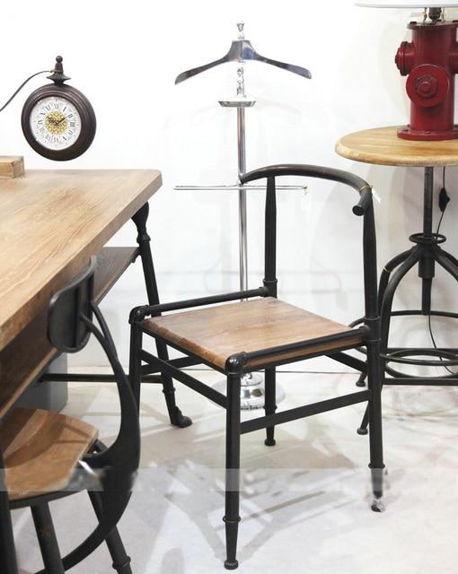 Pays Du0027amérique   Rouille Vintage Meubles En Bois, Fer Forgé Chaise Dinette  Hôtel