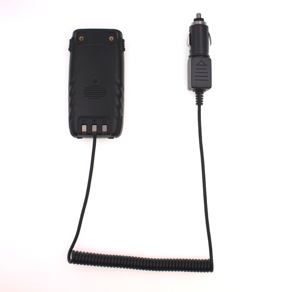 Original Car Charger For QYT KT-8R Battery Eliminator 12V Portable Powerful Walkie Talkie Charger