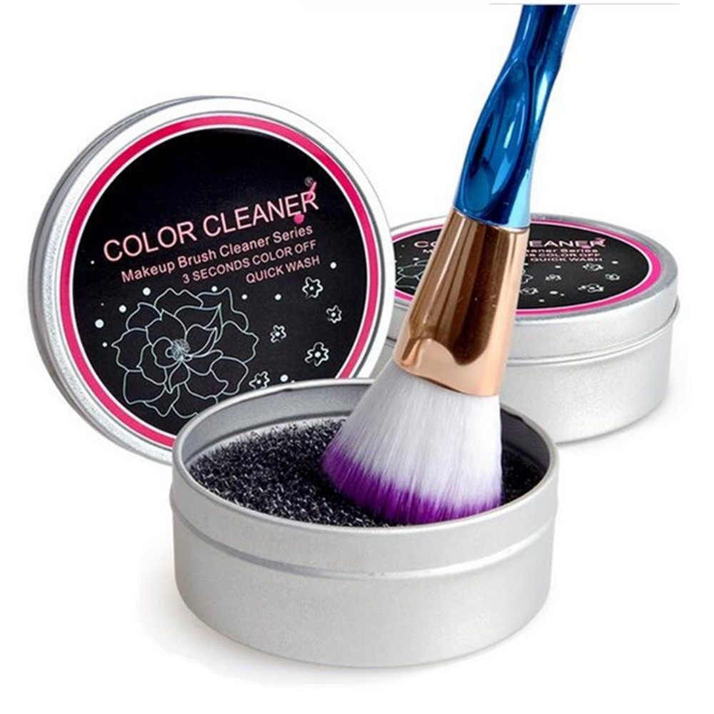 new cleaning makeup brush cleaner hair brush cleanser washing make up brushes cleaners blush powder remover color toiletry kits