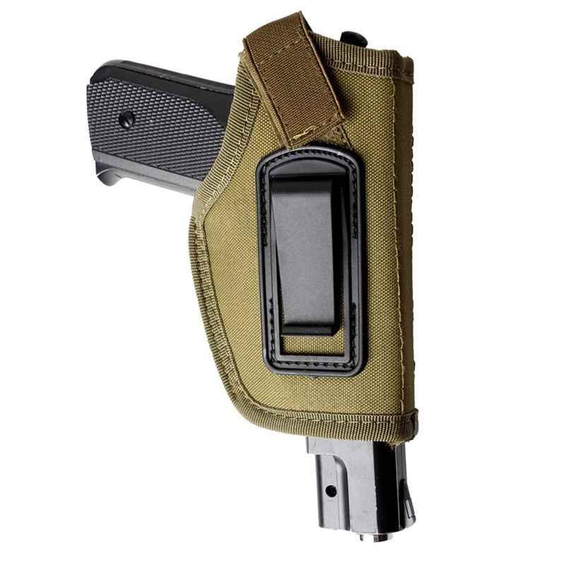 Tactical Pistol Holster Innen Bund Verdeckte Trage Clip-Auf Holster Nylon Jagd Schießen Pistole Holster Pouch Pistole Fall