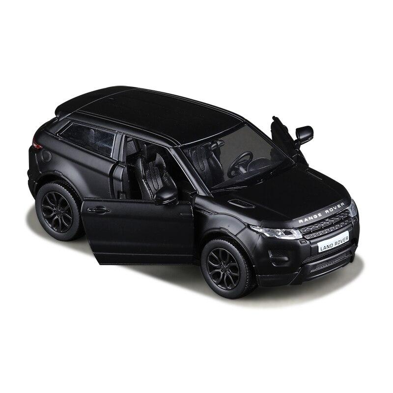 R Noir Mat 1:36 Aurora Jouet Véhicules Alliage Tirer Mini Voiture Réplique Autorisé Par L'usine D'origine Modèle Jouets collection