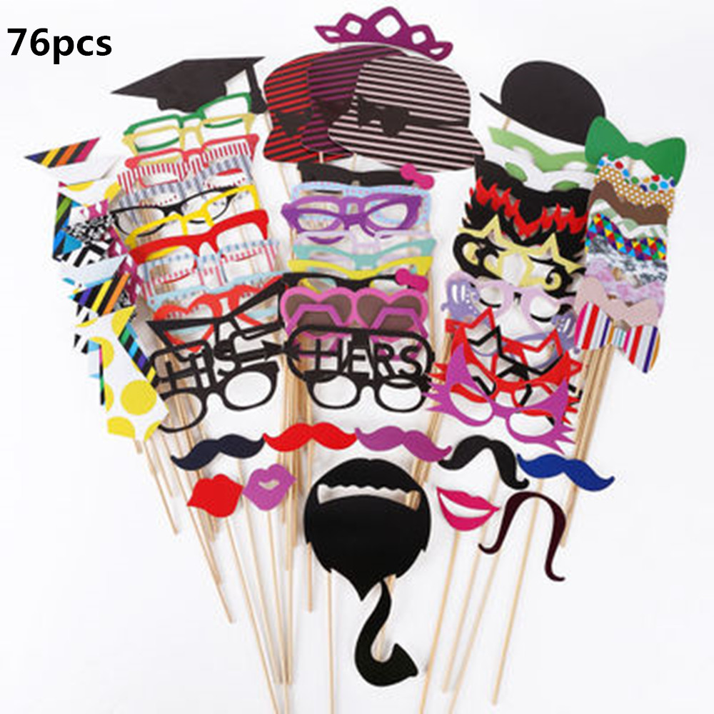 Christmas party Photo Booth Props Wedding Photo Booth Props Mustache Birthday Party Favors Mustache Lips Smiley face expression