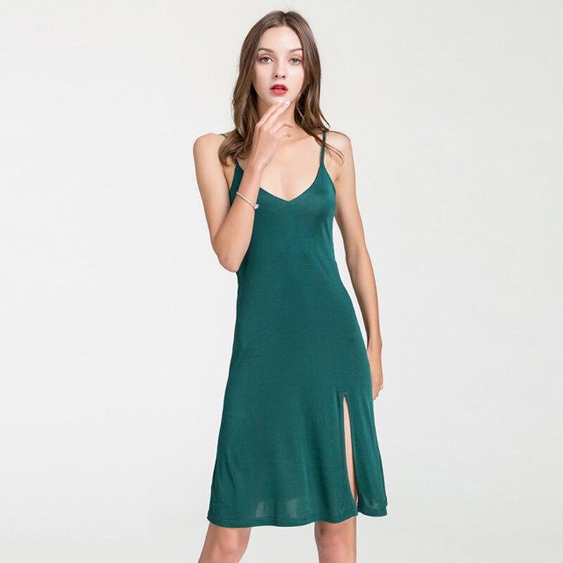 Summer Sexy Silk Dress