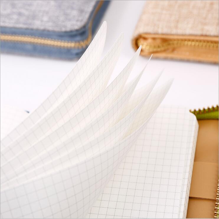 Dilosbu Zipper Bag A5 Doplněný plánovač Mesačný Týdenní 2018 - Bloky a záznamní knihy - Fotografie 5