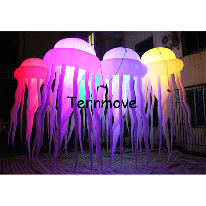 inflatable jellyfish medusa acaleph seajelly for advertising hanging decorative lighted Jellyfish for inflatable toys oem factory custom made replica lighted inflatable drink can inflatable bottle inflatable beverage bottle can for advertising