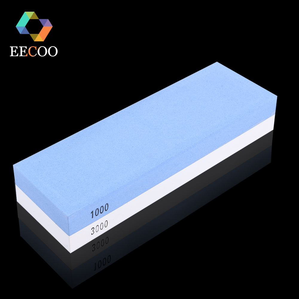 online buy wholesale japanese knife sharpening stone from china eecoo 1000 3000 japanese water stone knife sharpener system with sturdy non slip