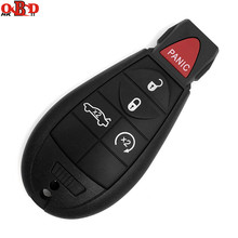 HKOBDII For Jeep Fobik Smart Remote Car key For DODGE/Chrysler 433Mhz 5 Button+Panic Blade with ID46 Electronic Chip
