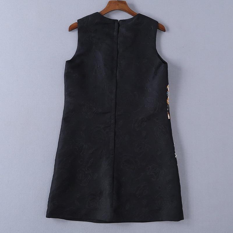 Perlé Femmes D'été Robe De 190104lu01 Mode Et Nouvelle 2019 Gilet Haut Gamme Printemps Impression wv0Rx77q4