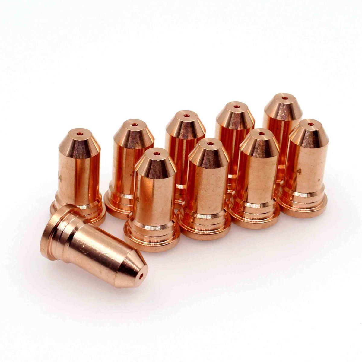 51248 Plasma Cutting Torch Nozzle TIps 1.6mm For PT100 IPT-100 IPT100 PKG-10