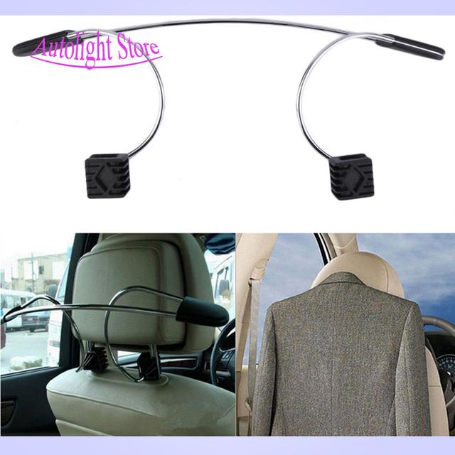 New Hot alta qualidade do carro conveniente assento Auto Headrest roupas casaco terno padrão de Metal motorista de passageiros do veículo suporte do gancho