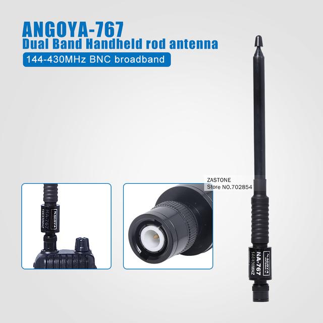 NAGOYA NA-767144/430 MHZ Antena de Banda Dual para Windows Portable Radio Portátil walkie talkie