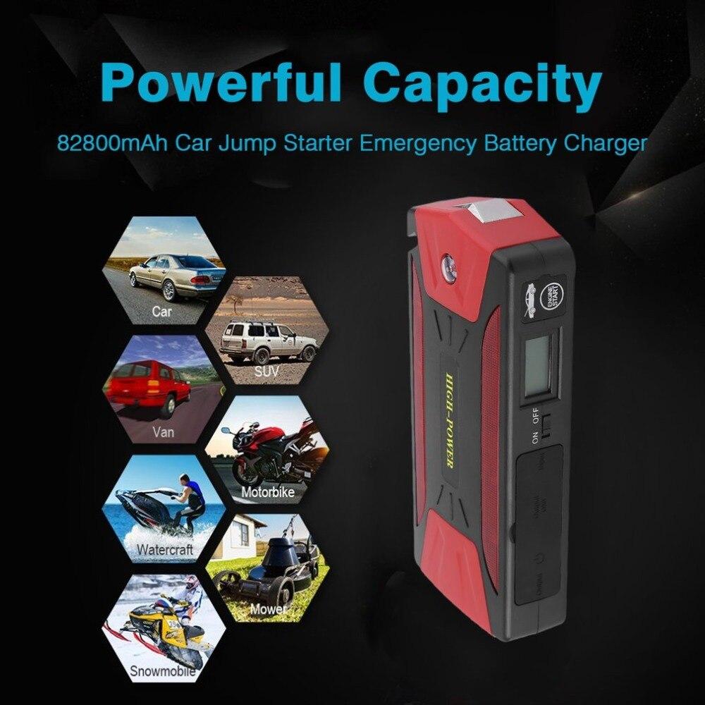 82800 mah Démarreur Voiture De Saut Portable D'urgence Chargeur de Batterie Multi-Fonction Mini 300A Automobile Booster Puissance Banque - 2