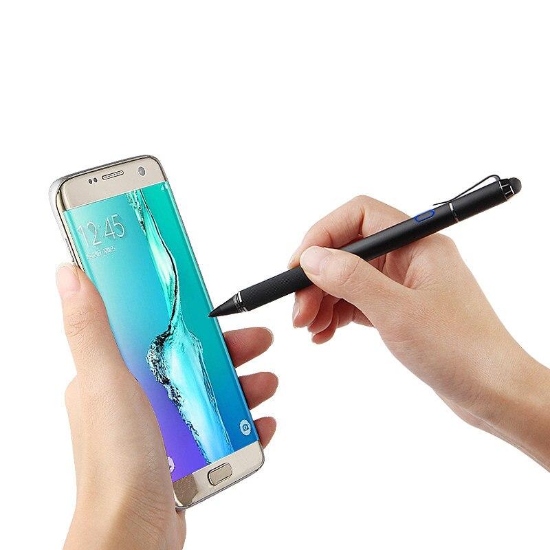 Stylet actif écran tactile capacitif pour Samsung Galaxy S8 S7 S6 edge S8 + Plus S5 S4 S9 G9500 G930V G920F étui de téléphone portable